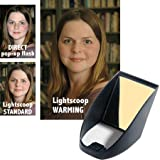 Professor Kobre's Lightscoop, Warm Version Bounce Flash Device, Universal model, fits over the Pop-up Flash of most SLR Cameras