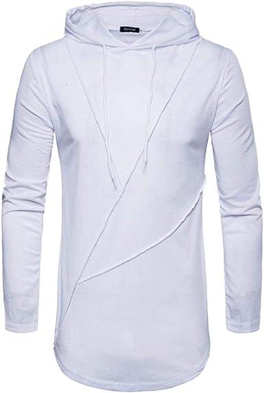 Sudadera Hombre con Camiseta Slim Fit Manga Larga con De Los ...