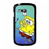 SpongeBob Squarepants Cartoon Samsung Galaxy S3 Mini Phone Case Classical Cute SpongeBob Pattern Premium Phone Cover Case