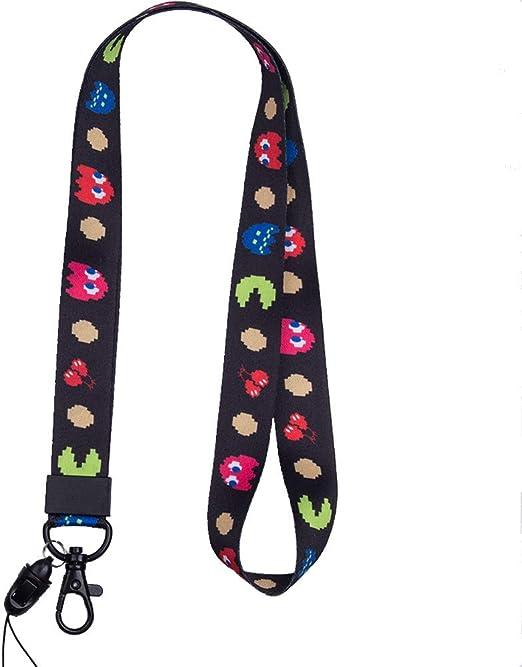 chiavi badge ideale per cellulari Cordino da collo di alta qualit/à mp3 e chiavette USB style 5 con stampa colorata su entrambi i lati