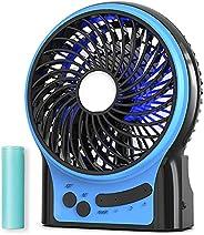 Mini Portable Battery Operated Desk Fan