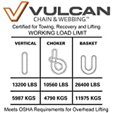 VULCAN Round Sling - Heavy Duty - 10 Foot - Red