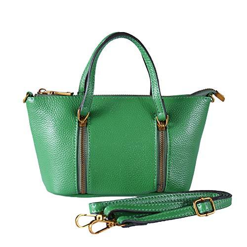 Femme Sacs à Bag Green Sac Designer Sacs Main à à Fourre En Cuir Cross Grand Body Bandoulière tout Main Véritable 4tqOxXnwx