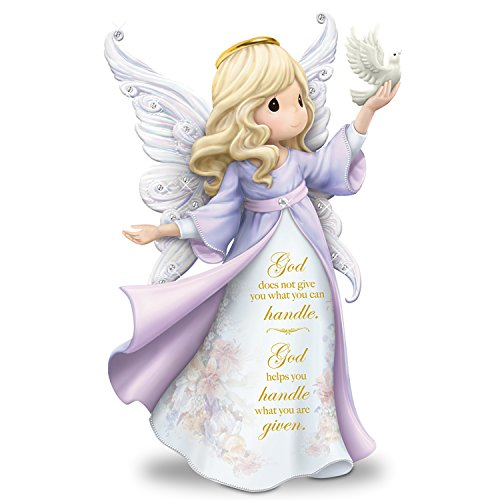Precious Moments Angel Figurine with Lena Liu Artwork by The Hamilton Collection