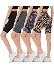 CAMPSNAIL Printed High Waisted Leggings for Women - Pattern Soft Tummy Control Yoga Pants Workout Tights for Cycling Sports