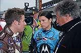 Signed Patrick, Danica / Andretti, Marco / Andretti, Mario 8x12 Photo by Danica Patrick, Marco Andretti and Mario Andretti. autographed