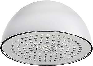 URREA 3025SB Regadera Shower Beat sin Brazo se Conecta a Dispositivos Bluetooth, No Requiere Pilas ni Corriente Eléctrica