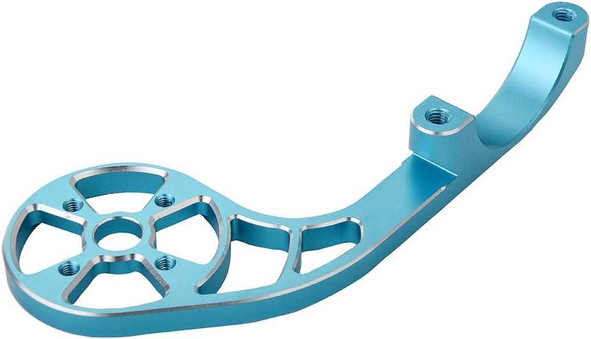 Bryton Ajustable Color Negro Soporte de Bicicleta para c/ámara Deportiva Go Pro Garmin Edge TrustFire Azul y Rojo