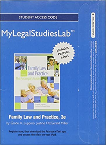 NEW MyLegalStudiesLab and Virtual Law Office Experience with