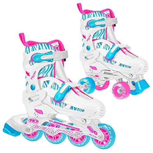 (Roller Derby Falcon GTX Inline/roller Combo Skates Girl's 3-6 )