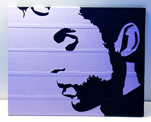 Duct Tape and Vinyl Art Piece of Prince by Living Colored Duct Tape and More...