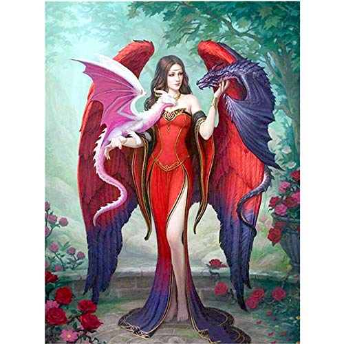 5D DIY Diamond Painting 30×40cm, Vacally Embroidery Paintings Rhinestone Pasted Painting Decoration High Definition Simulation Halloween Living Room Wall Art Decor Paintings