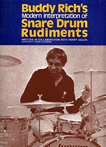 - Buddy Rich's Interpretation of Snare Drum Rudiments