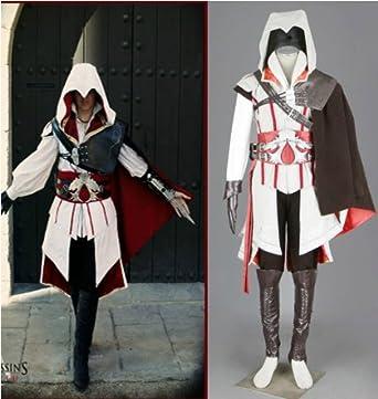 Assassin s Creed 2 II Ezio Cosplay Costume Halloween  b703bdeab326