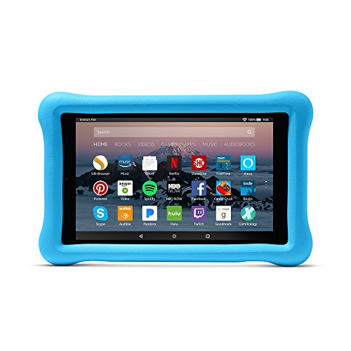 Large Product Image of Amazon Kid-Proof Case for Amazon Fire HD 8 Tablet (7th Generation, 2017 Release), Blue