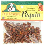 Don Enrique Pequin 0.5 oz Bags (Pack of 12), Dried Pequin Chiles for Spicing and Garnishing in Cooking and Baking, Very Hot Dried Chiles 6 out of 10 Heat