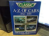 A-Z of Cars, 1945-1970 9781870979092