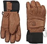 Hestra Fall Line Leather Short Ski, Ride and Park Glove,Brown,8