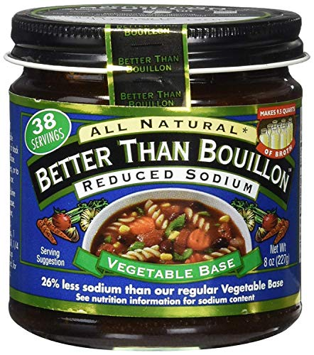 Superior Touch Better Than Bouillon reduced sodium vegetable base, 8-oz. glass (2 Pack)