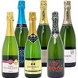 △本格シャンパン製法だけを厳選 飲み比べ泡6本セット((W0GX84SE))(750mlx6本ワインセット)