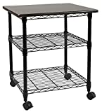 Apollo Hardware Printer Stand Series / 3 Tier Printer Stand(Black) 18''Wx21''Lx27''H (3 Tier)