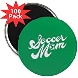 CafePress - Soccer Mom - 2.25'' Magnet (100 pack)