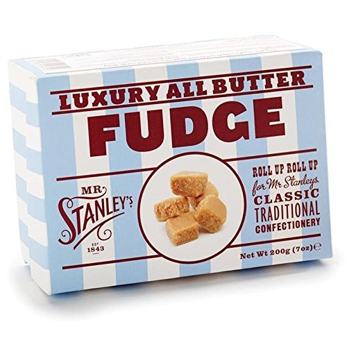 Mr Stanley's Butter Fudge 200g - Pack of 6