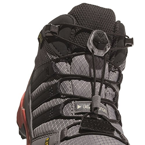 adidas Unisex-Kinder Terrex Mid GTX Trekking-& Wanderstiefel Grau (Grey Three)
