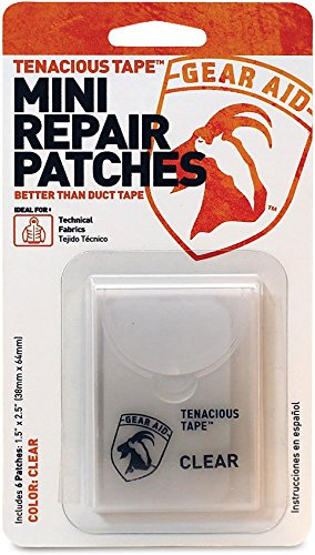 Gear Aid Tenacious Tape Mini Repair Patches, Clear