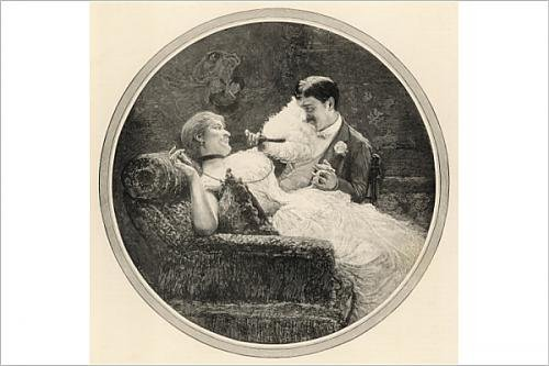 Photographic Print of Flirtation