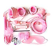 ABBY -J 11Pcs BSDM Collar Woman Submissive for Couple Toy