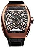 Franck Muller 18kt Solid Rose Gold Vanguard Skeleton 7 Days Power Reserve