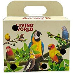 Living World Bird Carrier Cardboard Box by Living World