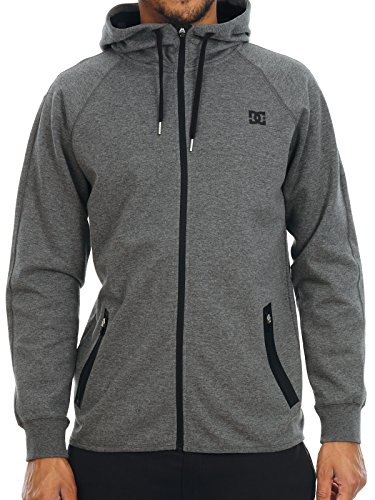 DC Shoes Woodmoor Hoody - Charcoal Heather