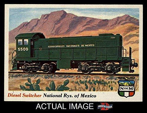 1955 Topps Rails & Sails # 26 Diesel Switcher (Card) Dean's Cards 6 - EX/MT 1688437