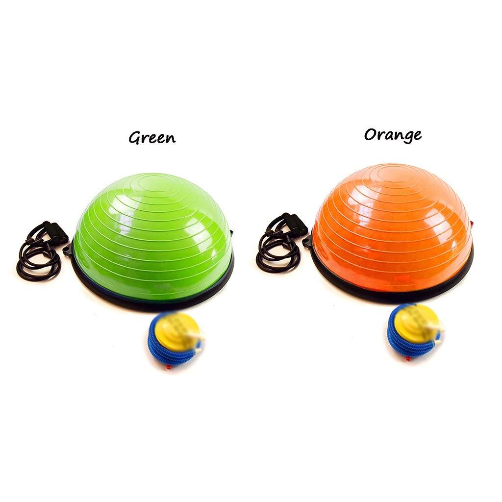 Yoga Ball, Pola Pilate Gleichgewicht Hemisphäre Fitness Fitness Hemisphäre Ball Gymnastikübungen Trainer explosionssicher 0a8c75
