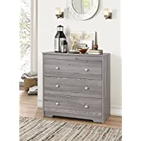 ACME Furniture 97241 Tashia 3-Drawer Chest, One Size, Gray Oak