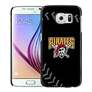 Pittsburgh Pirates For Samsung Galaxy S6 Black Case Cover