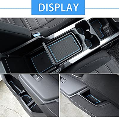 Auovo Door Liners Inserts Cup Console Mats for Honda CR-V Interior Decoration 2020 2020 2020 Honda CRV Accessories(Pack of 21) (Blue): Automotive
