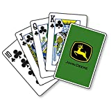 John Deere Trademark Green Playing Cards