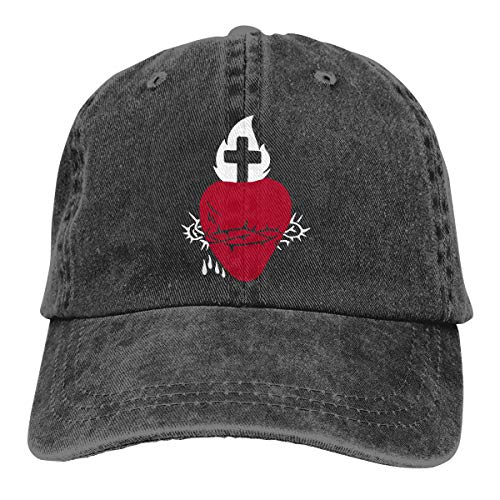 Ginu Sacred Heart Baseball Cap for Mens and Womens ()
