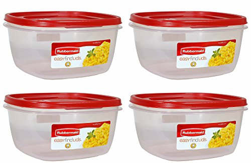 Rubbermaid Storage Container BPA Free Plastic