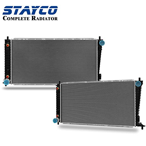 - CU2165 2-Rows Radiator Replacement for ford F-150 F-250 Expedition 1997 1998 V8 4.6L