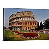 Great Big Canvas Gallery-Wrapped Canvas Entitled Colosseo Colosseum in Rome, Italy 48''x32''