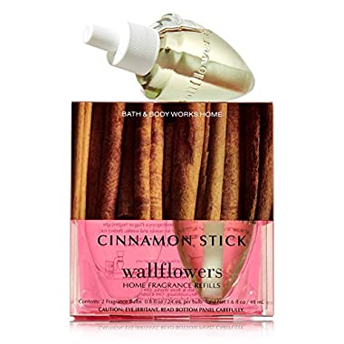 Bath & Body Works Cinnamon Stick Wallflowers 2-pack Refills (1.6 Fl Oz. Total)