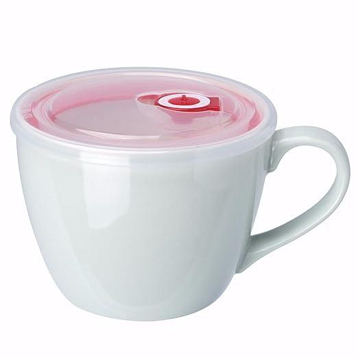 WU-Mug El Gran tazón de Fideos instantáneos japoneses con Tapa ...
