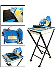 7 Electric Ceramic Tile Saw Cutter Wet Dry W Stand Blade Laser Marble Masonry