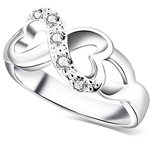 rings ring engagement for diamond with symbol infinity wedding intended