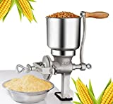 Corn Wheat Grinder Big Hopper Grain Grinder Manual Home Commercial New US [US Warehouse] by Superjune