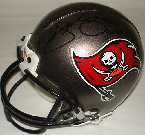 Alex Smith Hand Signed / Autographed Tampa Bay Bucs/Buccaneers Mini Football ...
